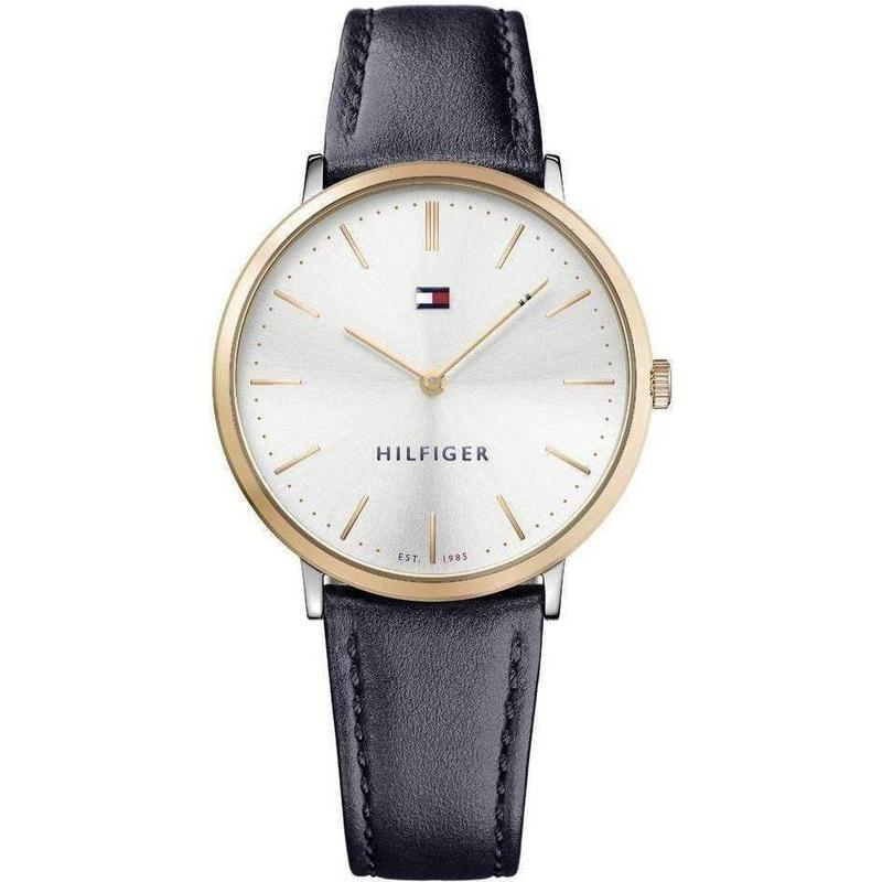 Tommy Hilfiger Slim Leather Ladies Watch - 1781689-The Watch Factory Australia