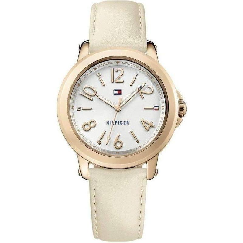 Tommy Hilfiger Slim Leather Ladies Watch - 1781755-The Watch Factory Australia