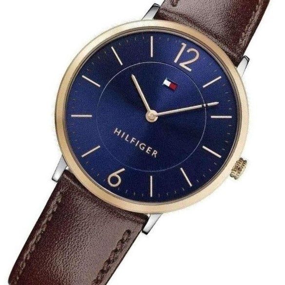 Tommy Hilfiger Slim Leather Mens Watch - 1710354