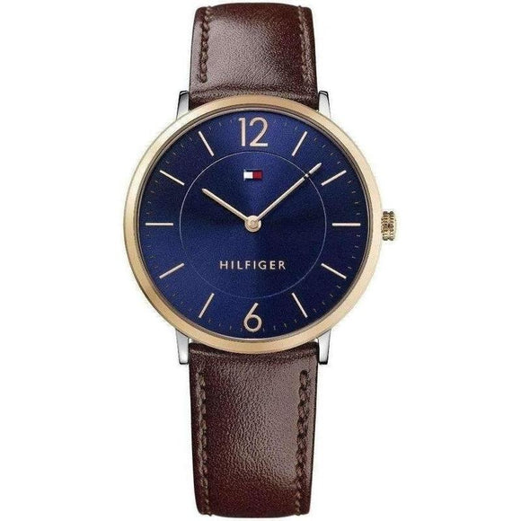 Tommy Hilfiger Slim Leather Mens Watch - 1710354-The Watch Factory Australia