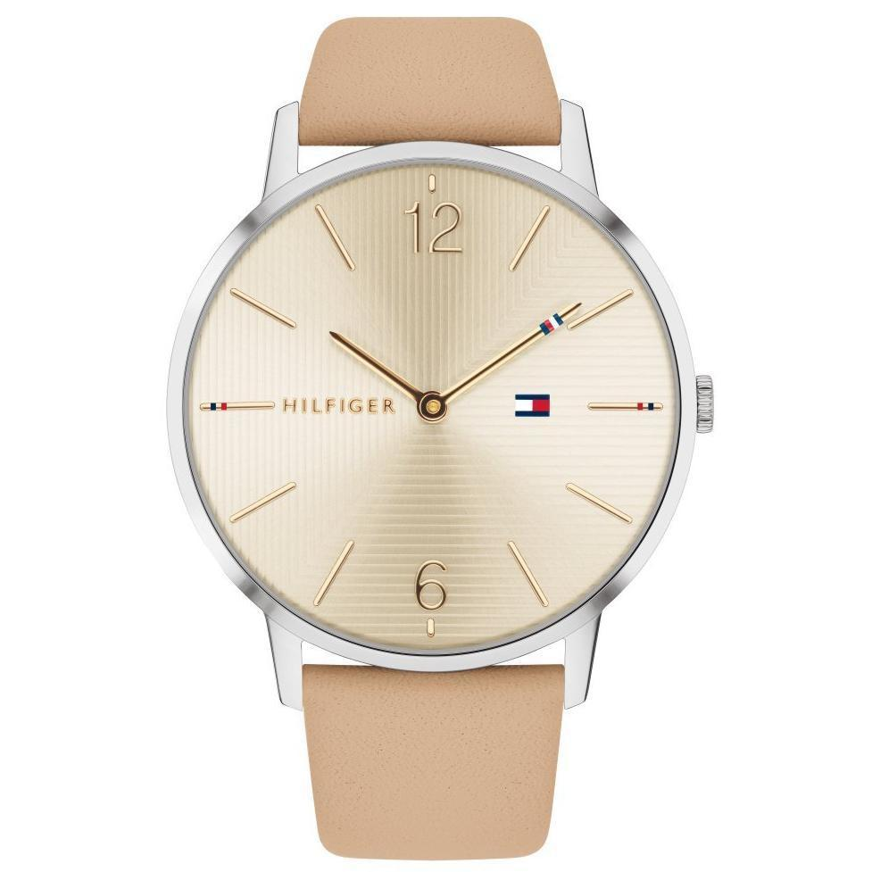 Tommy Hilfiger Smooth Leather Women's Watch - 1781974