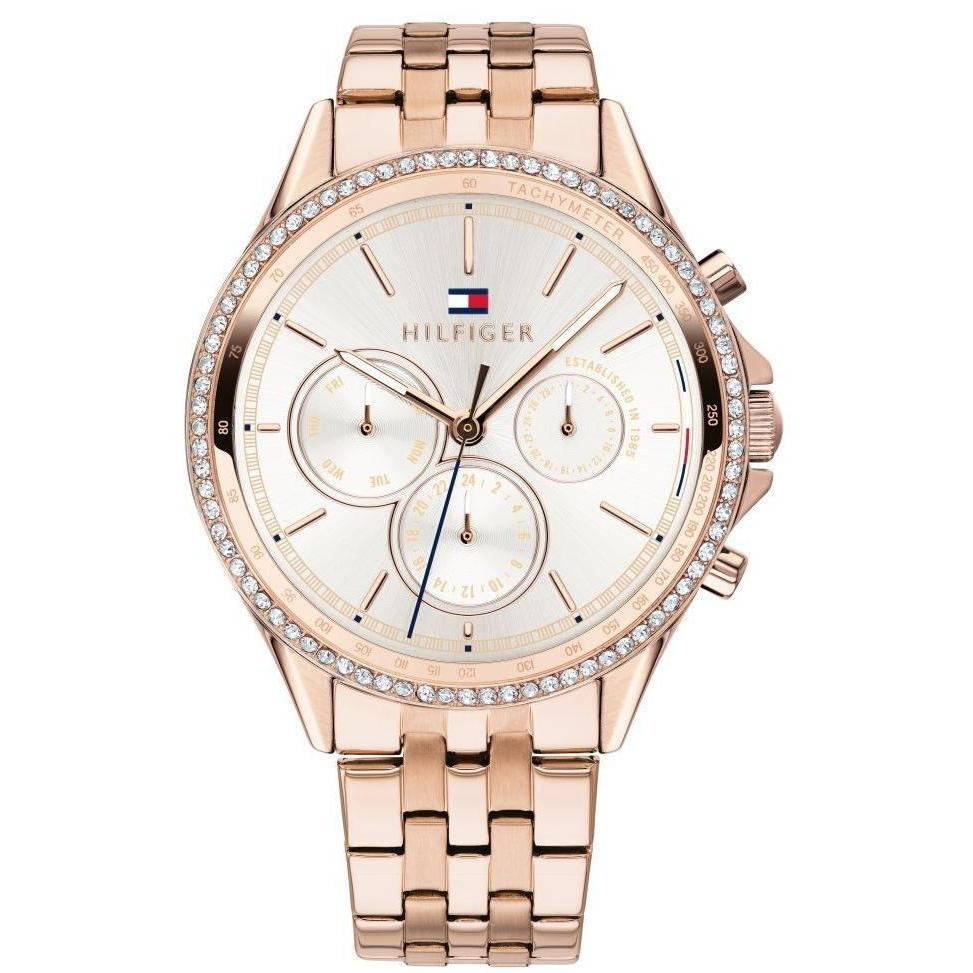 Tommy Hilfiger Sophisicated Crystal Women's Watch - 1781978