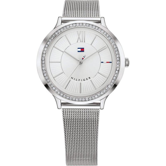 Tommy Hilfiger The Candice Stainless Steel Ladies Watch - 1781862-The Watch Factory Australia
