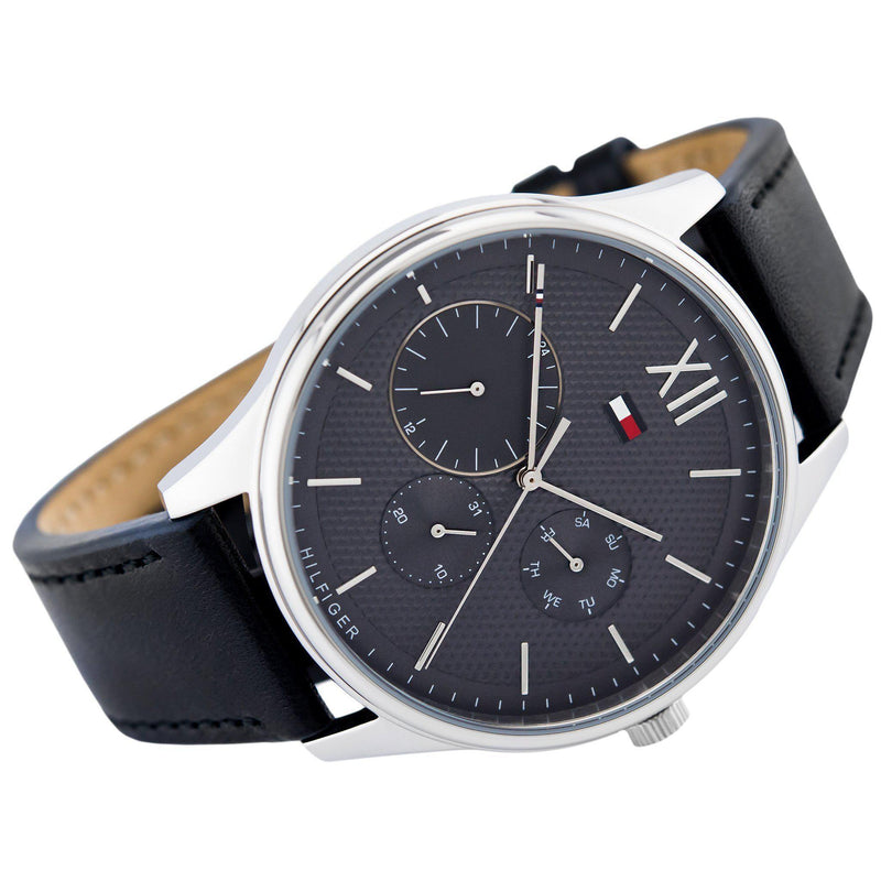 Tommy Hilfiger The Damon Men's Leather Watch - 1791417-The Watch Factory Australia