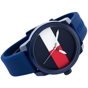 Tommy Hilfiger The Denim Men Silicone Watch - 1791322-The Watch Factory Australia