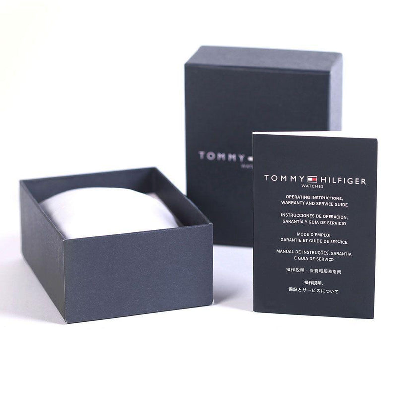 Tommy Hilfiger The George Men's Black Watch - 1710330
