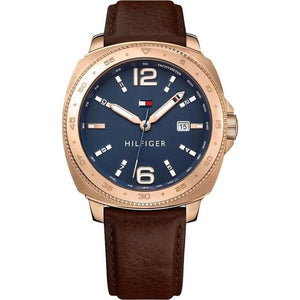 Tommy Hilfiger The Lucas Men's Leather Watch - 1791431-The Watch Factory Australia