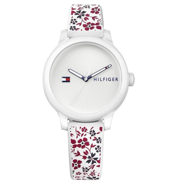 Tommy Hilfiger White Ladies Watch - 1781793-The Watch Factory Australia