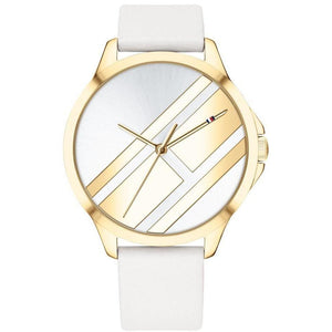 Tommy Hilfiger White Leather Women's Watch - 1781965