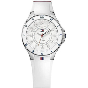 Tommy Hilfiger White Silicone Ladies Watch - 1781271-The Watch Factory Australia
