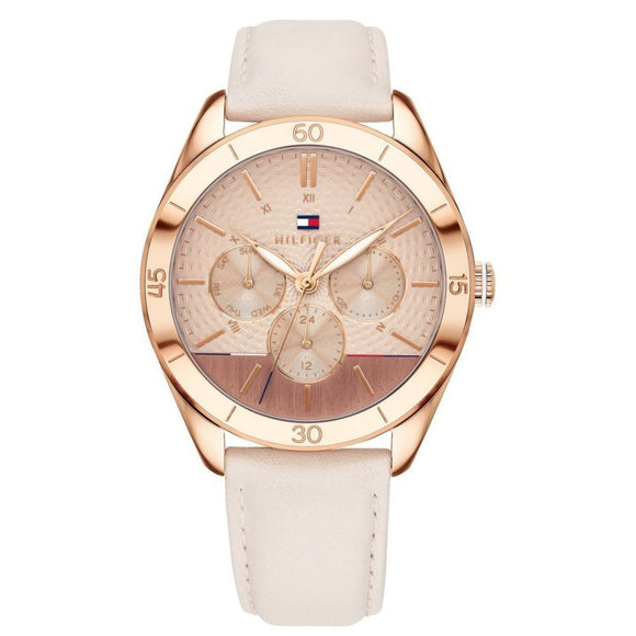 Tommy Hilfiger Women's Leather Watch - 1781887