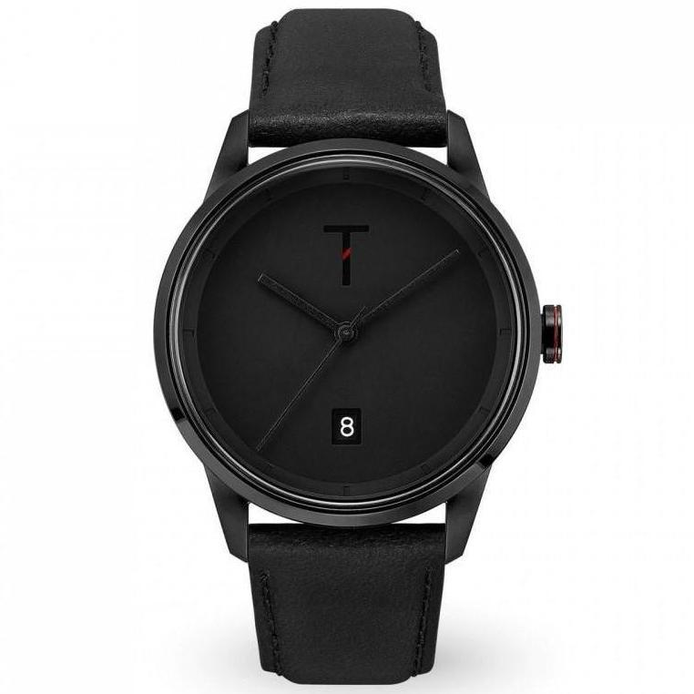 Tylor Cali Vibe Leather Men's Watch - TLAB006