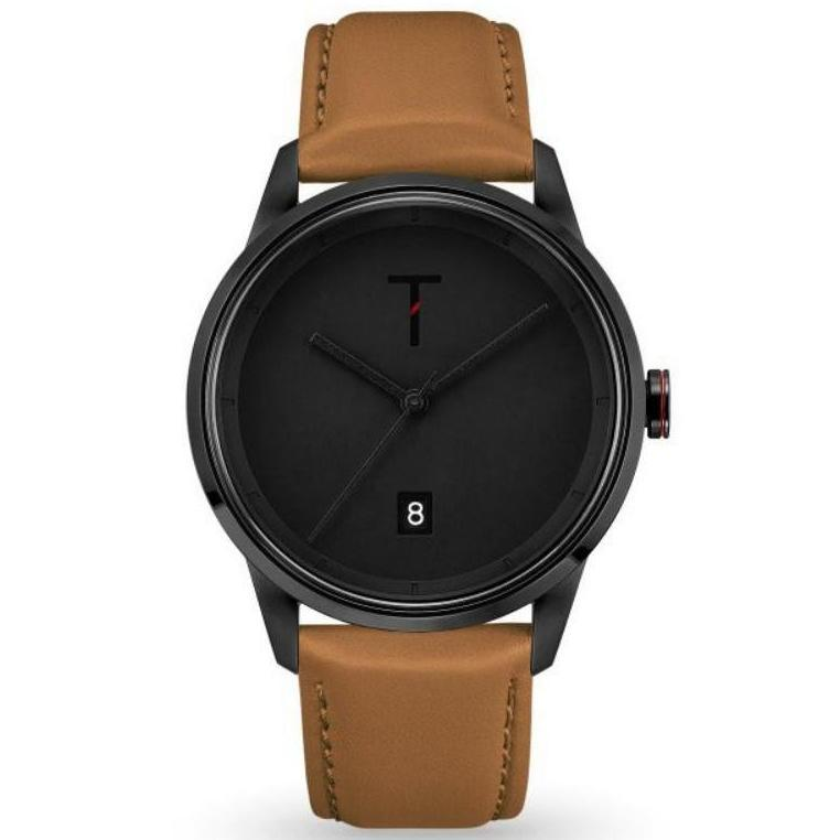 Tylor Cali Vibe Leather Men's Watch - TLAB007