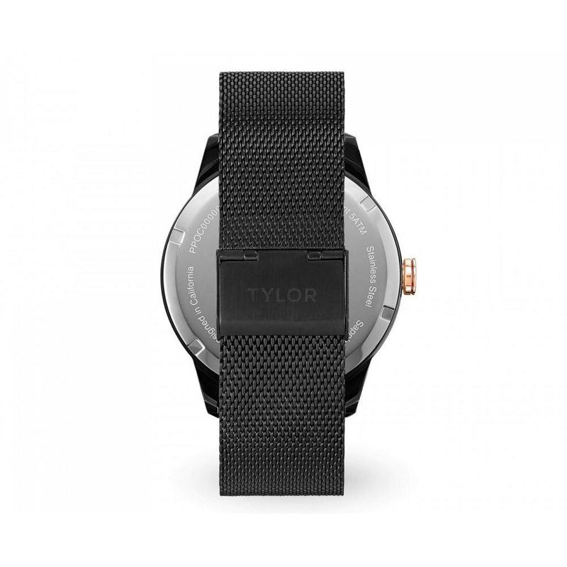 Tylor Cali Vibe Mesh Men's Watch - TLAB010