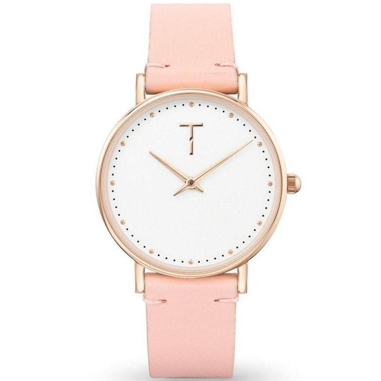 Tylor Cotton Dream Leather Women's Watch - TLAF003