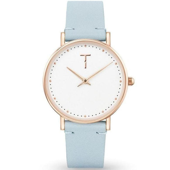Tylor Cotton Dream Leather Women's Watch - TLAF005
