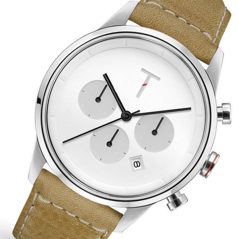 Tylor Tribe Leather Men's Watch - TLAC002