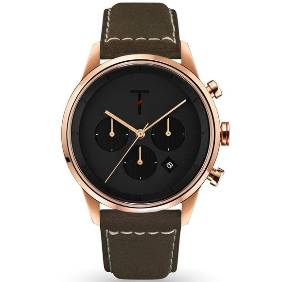 Tylor Tribe Leather Men's Watch - TLAC005