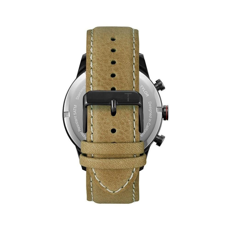 Tylor Tribe Leather Men's Watch - TLAC007