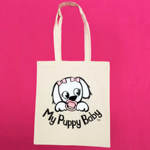 My Puppy Baby Tote Bag