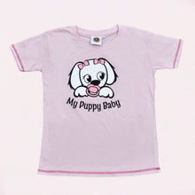 My Puppy Baby Kids T-Shirt with Sparkle Logo