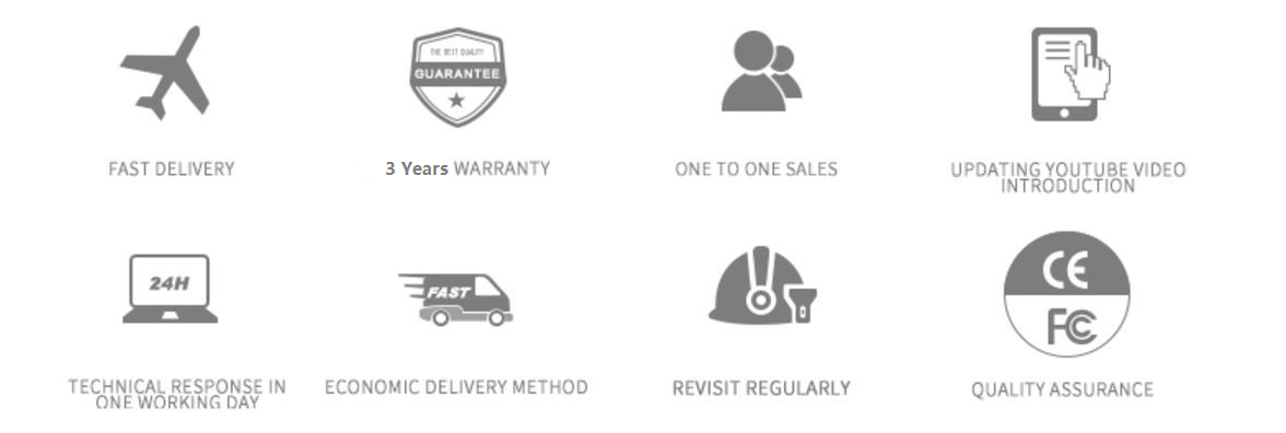 Switech Service Description including warranty, delivery, one to one sales, technical support