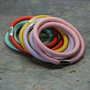 ENDLESS Double Row Leather Bracelets