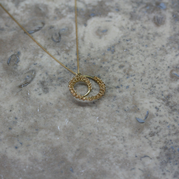 TERI HOWES 18ct Yellow Gold 'DNA' Pendant