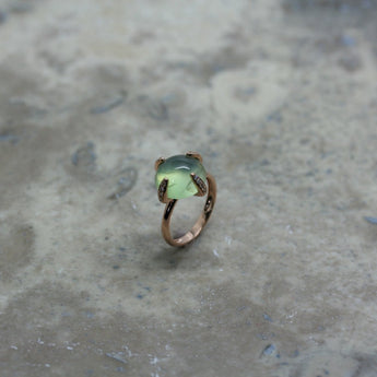 Fiore 'Candy Baby' Prehnite Ring