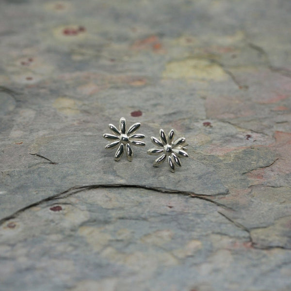 O F Design Silver Bio Earrings