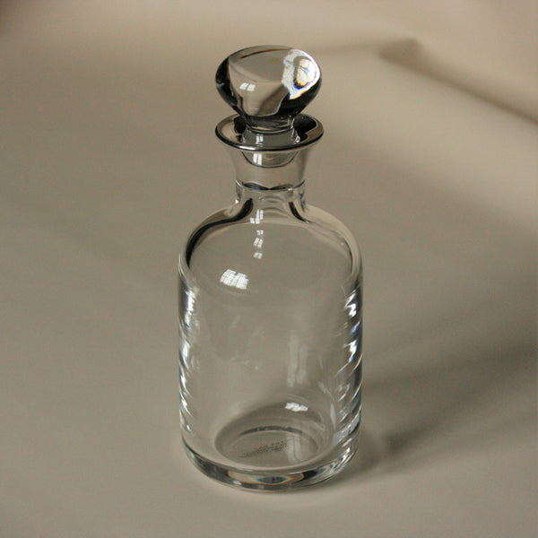 SONJA QUANDT Lead Crystal & Sterling Silver 'Paris' Decanter