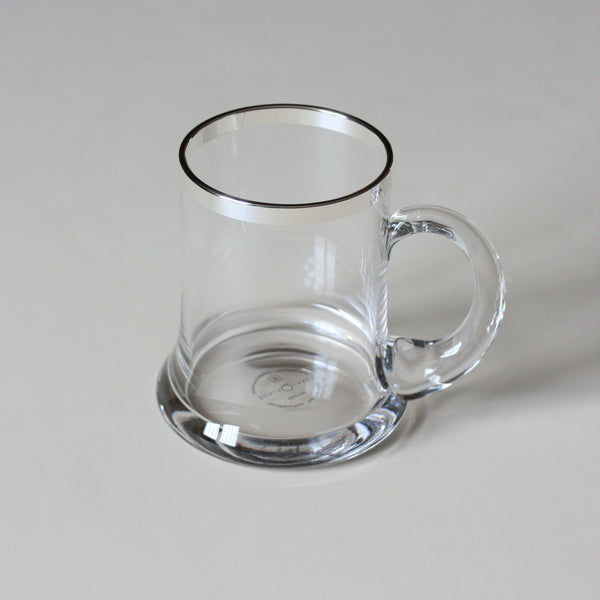 SONJA QUANDT Silver Edged Beer Tankard