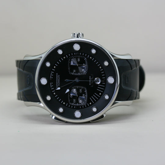 NOA Limited Edition Automatic Wristwatch with Rubber Strap