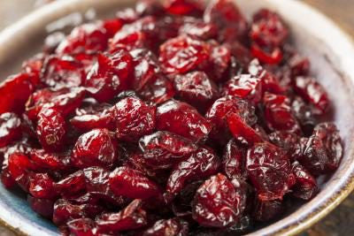 Cranberries, dried (250g)