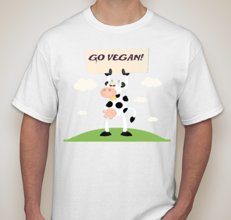 GO VEGAN COW T-Shirt