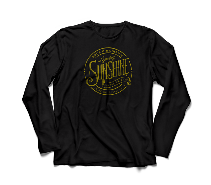 black long sleeve sunshine shirt