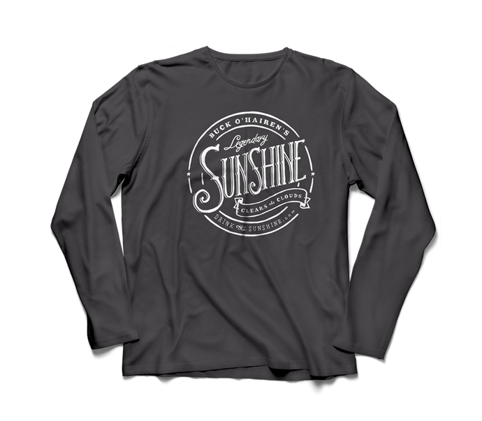 heather gray sunshine long sleeve shirt