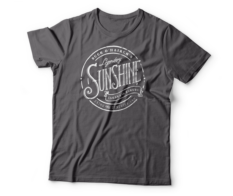 heather gray sunshine t-shirt