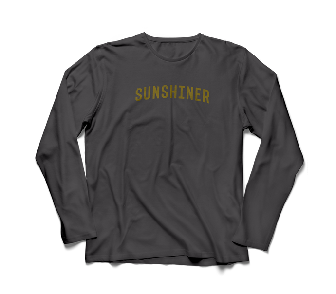 gray sunshiner long sleeve shirt