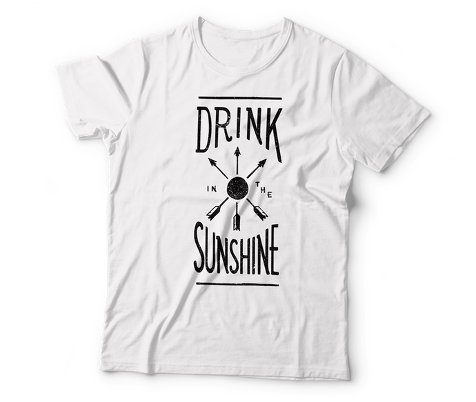 drink the sunshine t-shirt