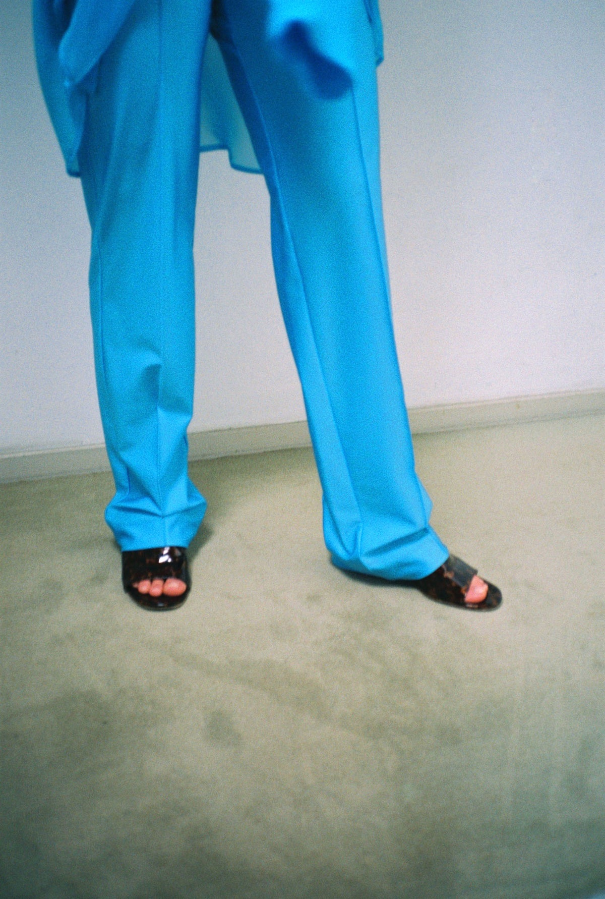 the gisele trousers -ocean