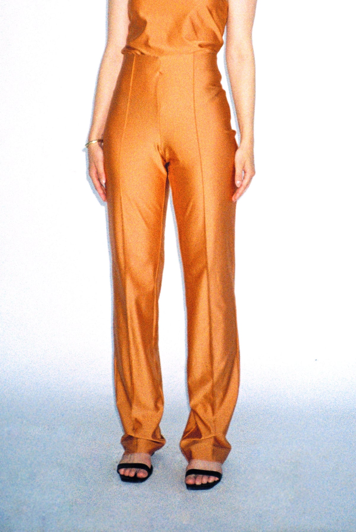 the gisele trousers - orange