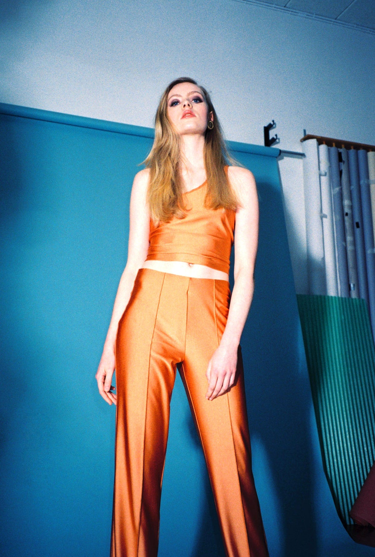 the gisele top - orange