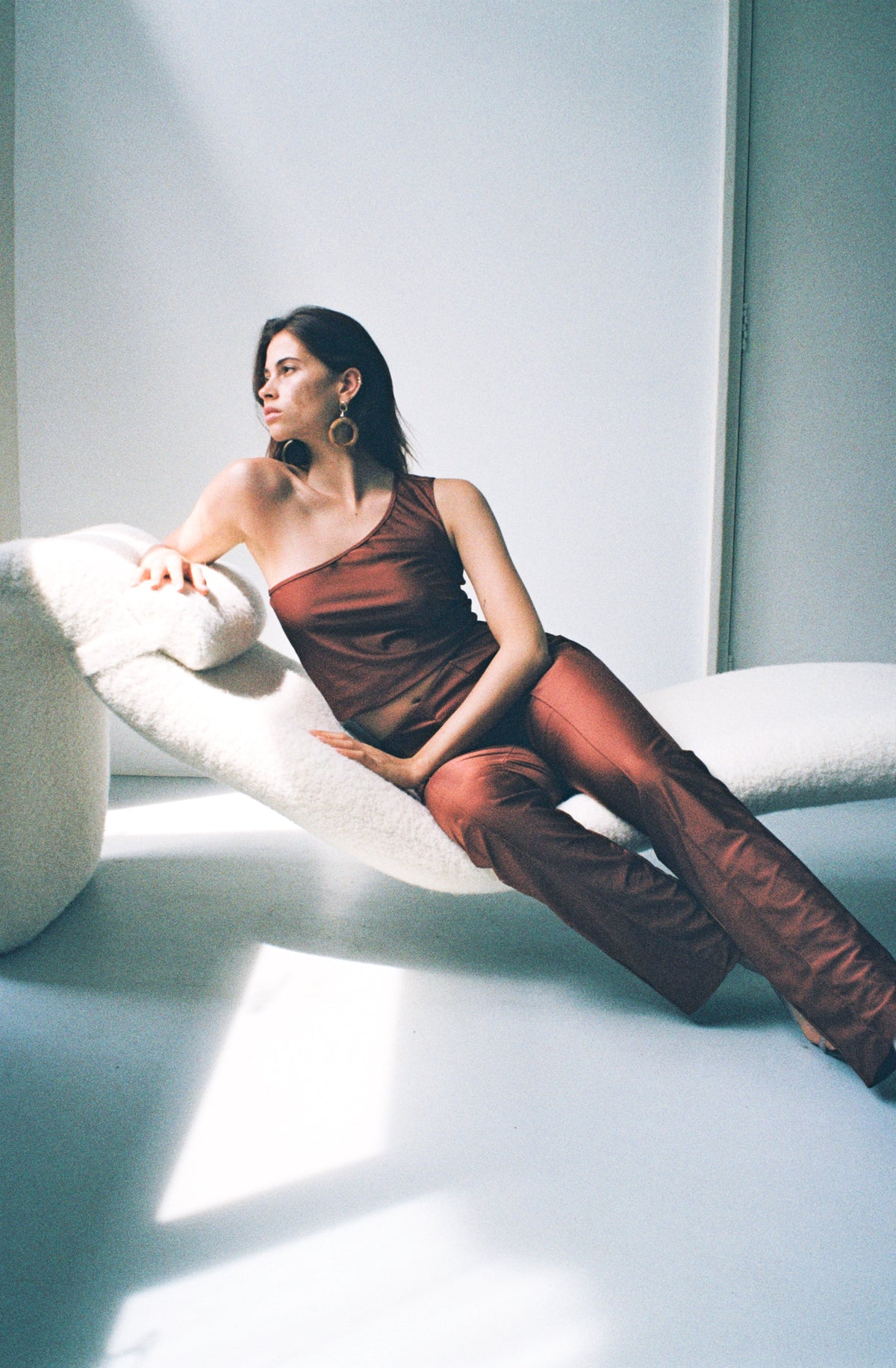 the 'gisele' top - cognac