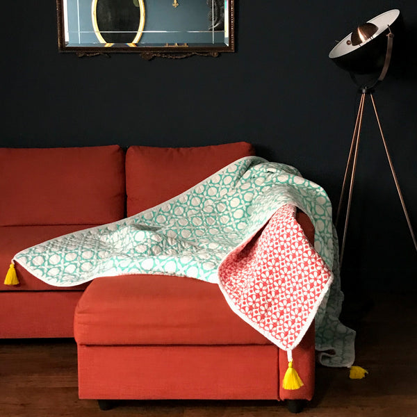 Ruby Forest Quilt (100% GOTS certified organic cotton)