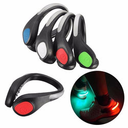 Cycling Night Safety Warning Luminous Shoe Clip