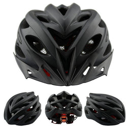 Matte Bicycle Helmet With Back Light
