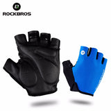 ROCKBROS Shockproof & Breathable Half Ringer Cycling Gloves