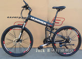26 inch aluminium folding bike 21 speed disc brakes