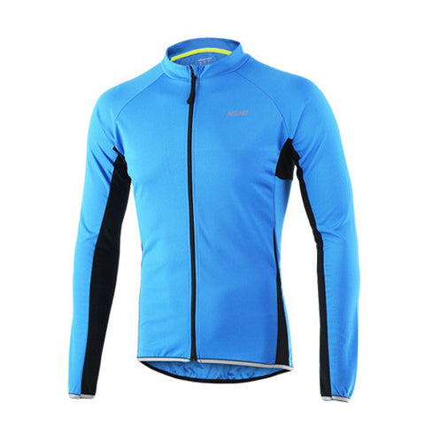 ARSUXEO Long Sleeves Outdoor Cycling Jersey For Men